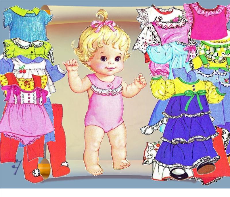 И во что одеть маленькую куклу